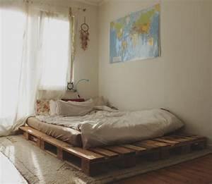 Bett Auf Paletten : 12 kreative ideen f r diy bett diy schlafzimmer zenideen ~ Michelbontemps.com Haus und Dekorationen