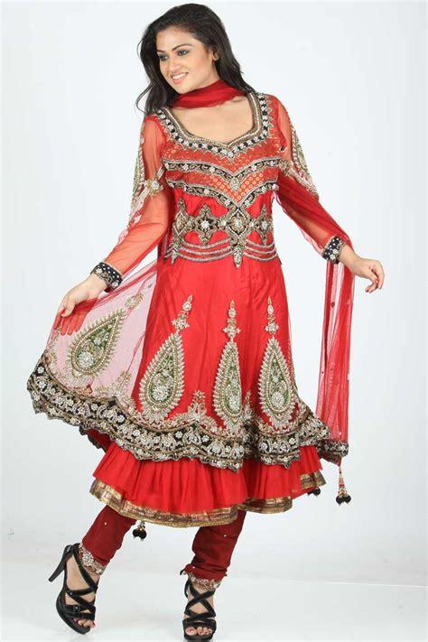 churidar wedding frock dress