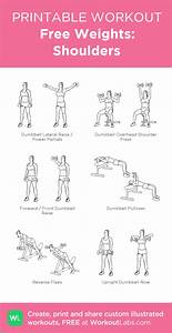 Free Weights  Shoulders  My Visual Workout Created At