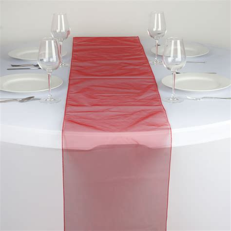 wholesale wedding table runners 50 wholesale lot organza 14x108 quot table runners wedding