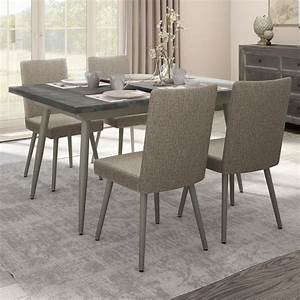 Amisco Boudoir 5 Piece Belleville Extendable Table Set