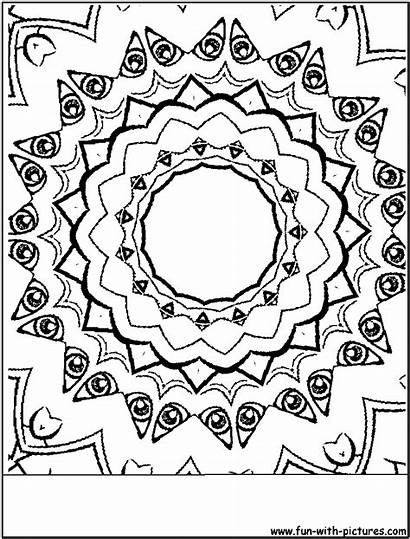 Coloring Random Fun Sketches Template