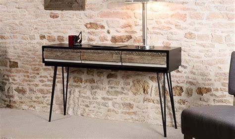 console chambre petits meubles de chambre console vintage en bois massif