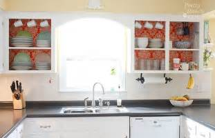 open cabinet kitchen ideas diy project kitchen cabinet update decorating your small space