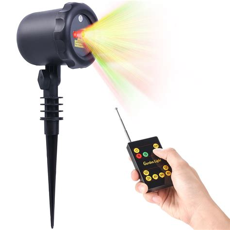 remote control christmas light switch laser christmas light with rf remote control waterproof