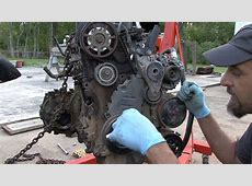 How to do a timing belt on your 9805 jetta 20 part 1 Doovi