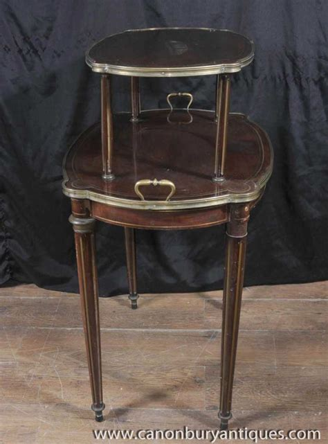 Etagere Table by Empire Antique Etagere Table Two Tiered Side Tables