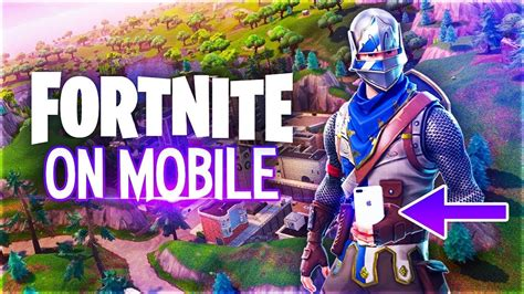 playing fortnite  mobile youtube