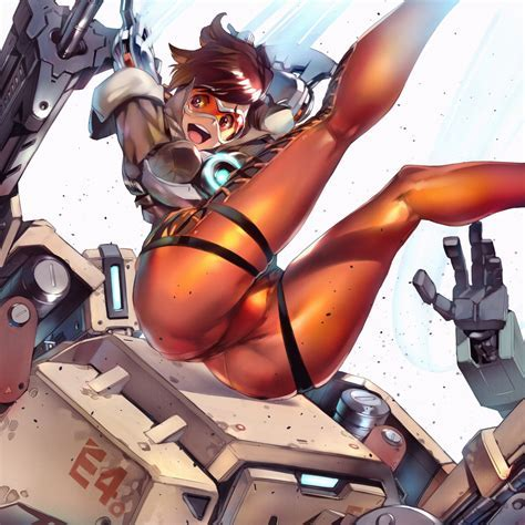 Tracer Fan Art Overwatch Know Your Meme