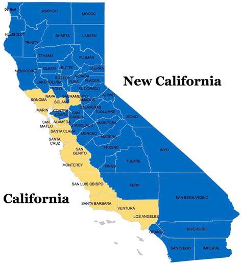 MAP OF NEW CALIFORNIA - AGENDA 21 RADIO