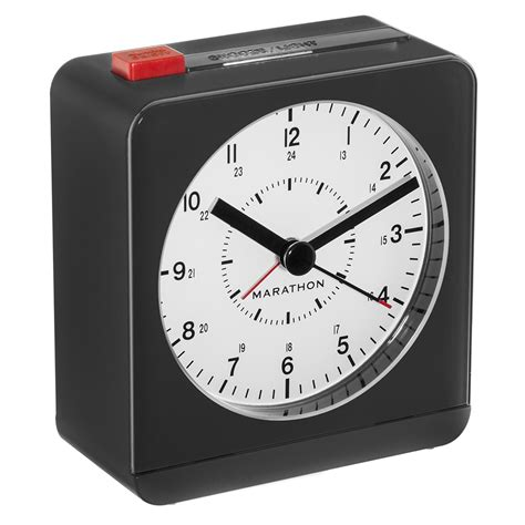 marathon analog desk alarm clock analog desk alarm clock with auto night light marathon