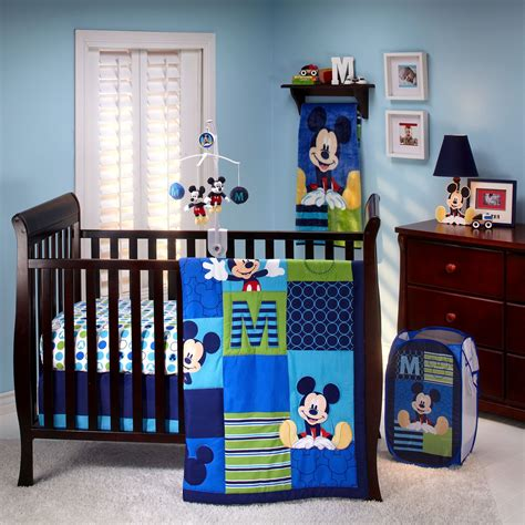 Mickey Mouse Crib Bedding Sets by Disney Mickey Mouse Baby Room Decor Bedroom Ideas