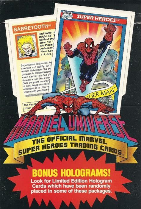 Gentlemen of Leisure: Unstacking the Deck: Marvel Universe ...