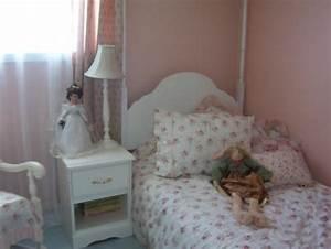 Chambre Shabby Chic : chambre shabby chic 4 photos misscaprices ~ Preciouscoupons.com Idées de Décoration