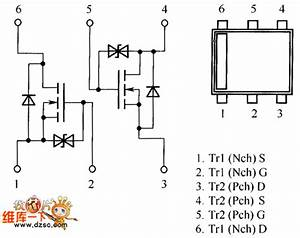 Fet Us6m1 Internal Circuit Diagram