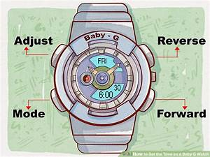 Casio Baby G Watch Instruction Manual