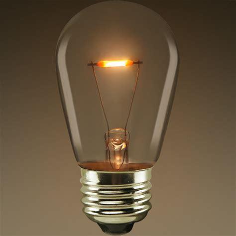s14 led antique bulb 0 7w lifebulb s14c0724k26