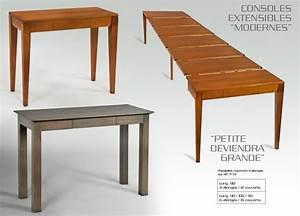 Table Console Extensible : table basse 100 dasras ~ Teatrodelosmanantiales.com Idées de Décoration