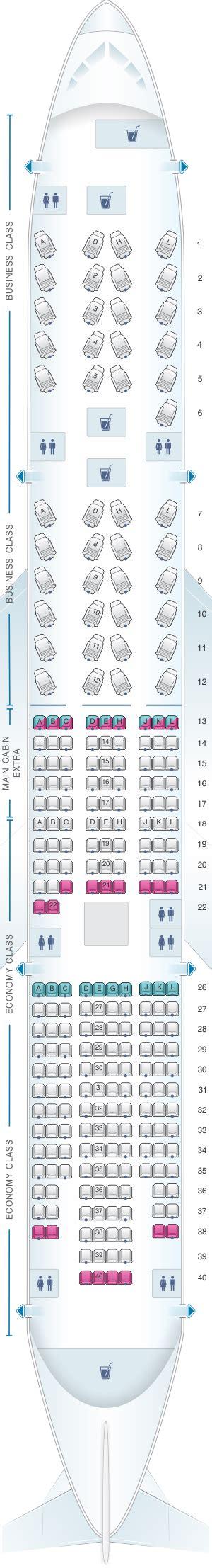 siege boeing 777 boeing 777 200 sieges 100 images seatguru seat map