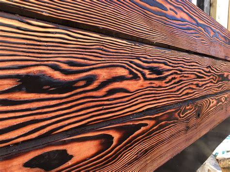 shou sugi ban charred timber claddiing
