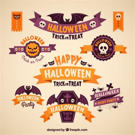 Download 44,000+ royalty free halloween banner vector images. Premium Vector | Happy halloween banners collection