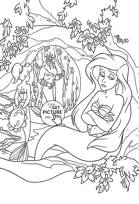 Kleurplaat Ariel Eric by 36 Disney Ariel Coloring Pages Ariel Coloring Page