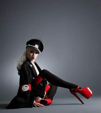 Nazi Mosh Miss Heels Anime Kitty Hello