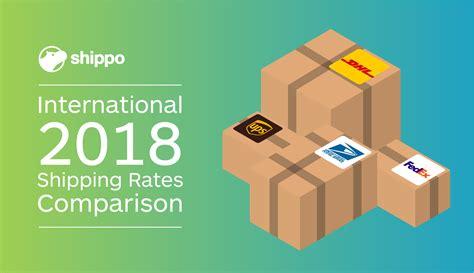 Dhl Vs. Fedex Vs. Ups Vs. Usps—2018 International Shipping