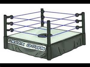 How to Draw WWE Ring
