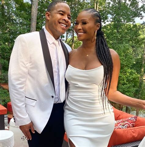 RHOA's Cynthia Bailey and husband Mike Hill show off their ...