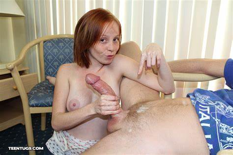 Redhead Pornstar Drilled For Cash And Sperm