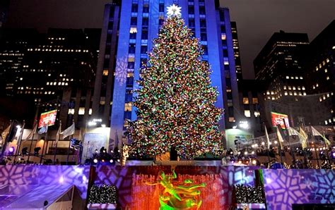 nyc tree lighting 2016 new york christmas tree animebgx