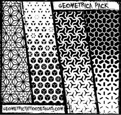 Geometric Tattoo Patterns