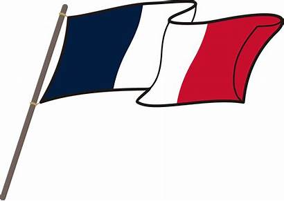 Flag French Paris Clipart France National Transparent