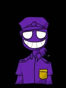 F-NaF Purple Guy Drawing