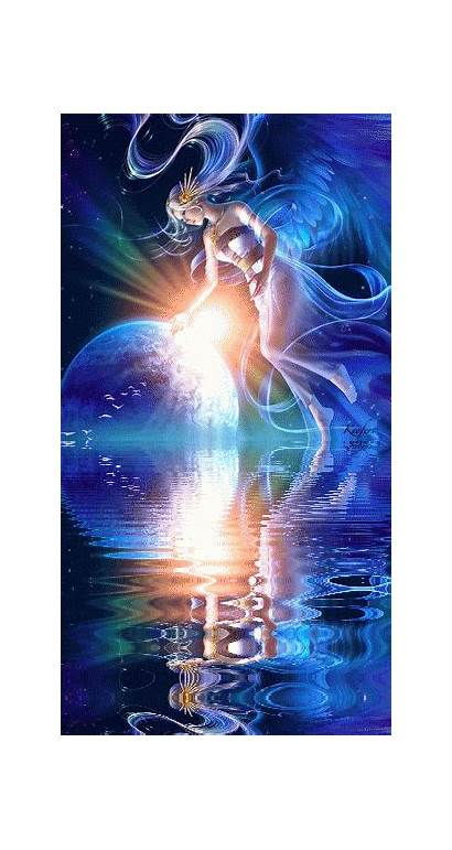 Angels Angel Water Reflection Guardian Together