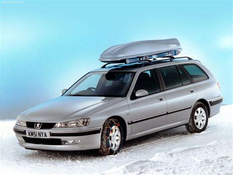 Peugeot 406 Estate (2000) - picture 3 of 6