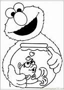 Coloring Pages Sesame ...Elmo Birthday Coloring Pages