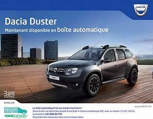 Dacia Duster 2018 Boite Automatique : avito achat voiture occasion au maroc dacia logan ~ Gottalentnigeria.com Avis de Voitures