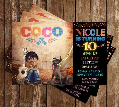 concept designs coco  birthday party