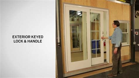 Andersen 400 Series Patio Door Assembly by Identifying The Components Of An Andersen Gliding Door