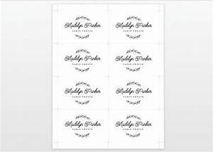 free place card template word the best resume With wedding place cards print your own