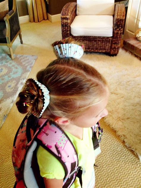 Crazy Hair Day Cupcake Hair Complete With Sprinkles Put