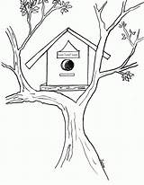 Coloring Bird Birdhouse Pages Drawing Sheet Drawings Sheets Popular Getdrawings Paintingvalley Library Clipart Colors Incoming Favorite Posts Coloringhome Clolour sketch template