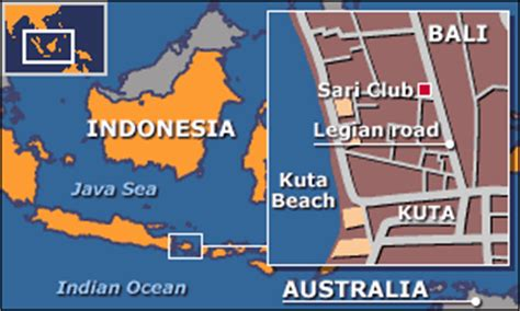 bbc news asia pacific eerie calm settles  kuta