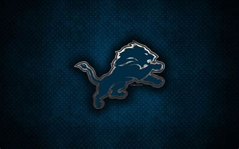Download wallpapers Detroit Lions, American football club ...