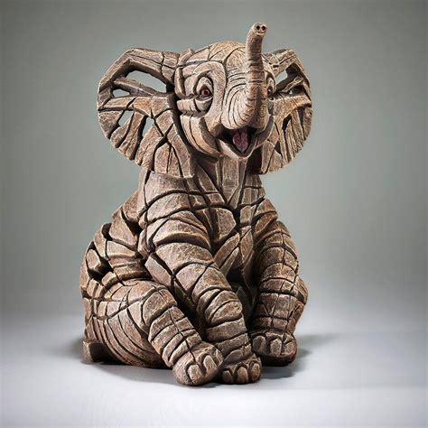 Elephant Calf - EDGE Sculpture ED35 by Matt Buckley