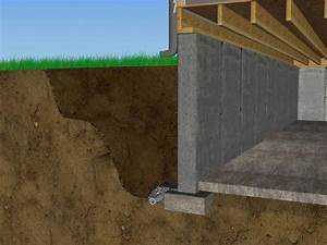 Keeping Water Off A Monolithic Floor