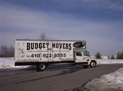 budget movers incorporated baltimore md