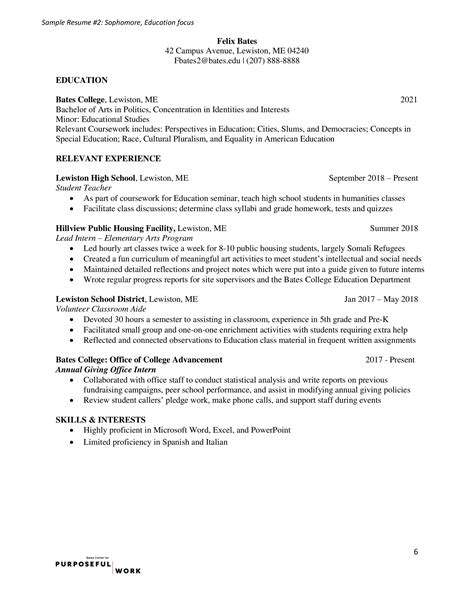 Formal Resume Template by Formal Resume Templates Resume Pdfs